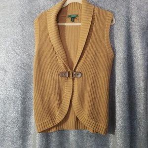 Lauren by Ralph Lauren knit vest PM